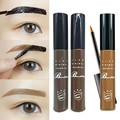 Profesional A Prueba de agua kits de maquillaje de cejas Ojo Tinte Mis Cejas Gel Maquillaje 3 Color Gris Café Brown Henna Tatuaje de Cejas Gel
