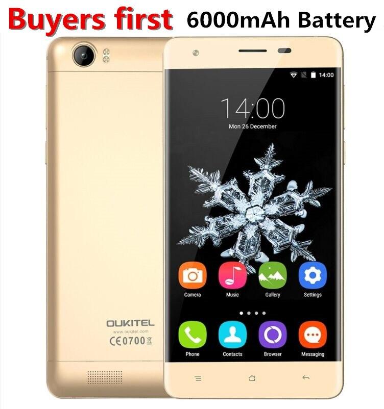 6000 mah Batterie Oukitel K6000 5,5