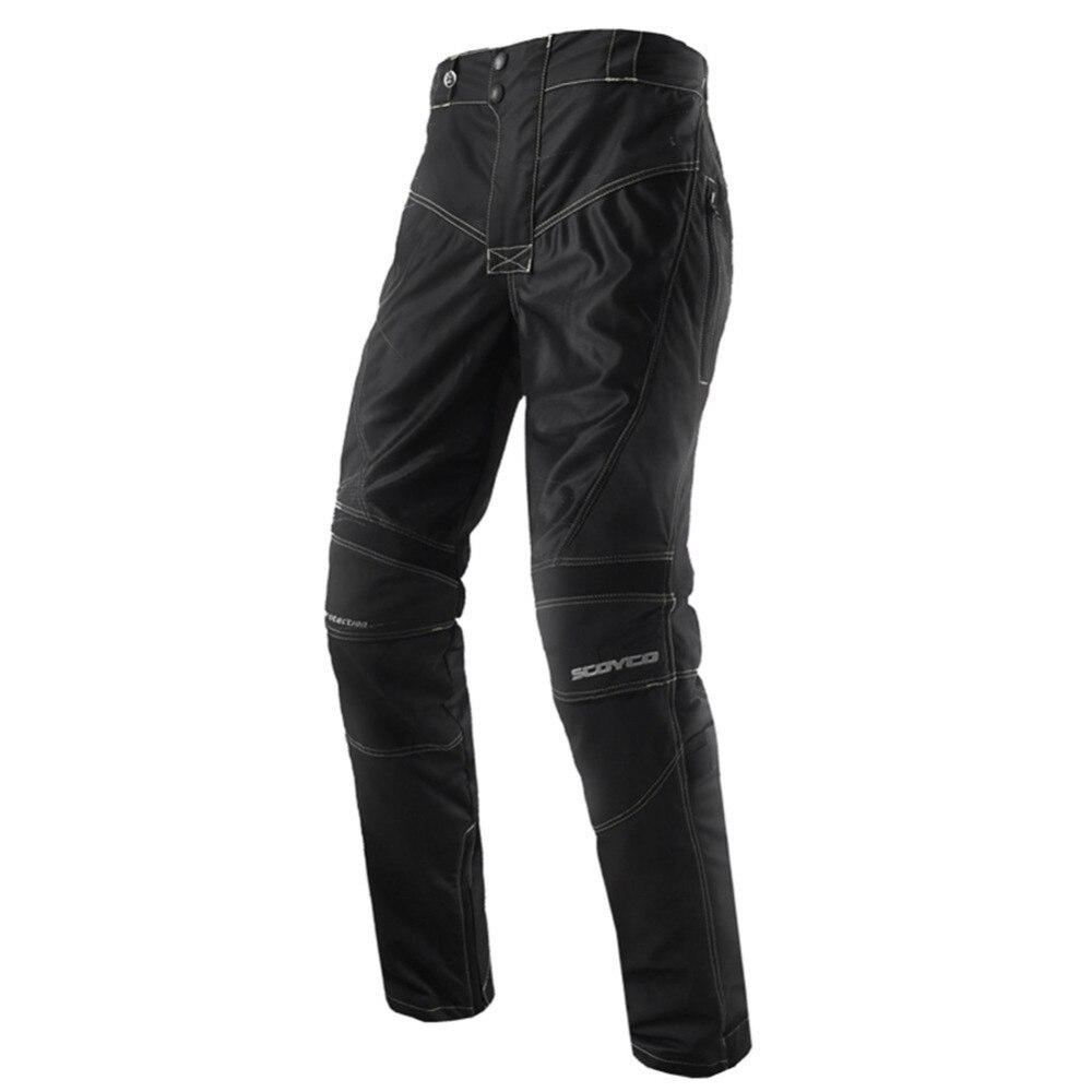 SCOYCO P0172 Motorcycle Pants Jeans Pantalon Moto Motorsiklet Pantolonu Pantaloni Pantolon Trousers Protect Knee Pads