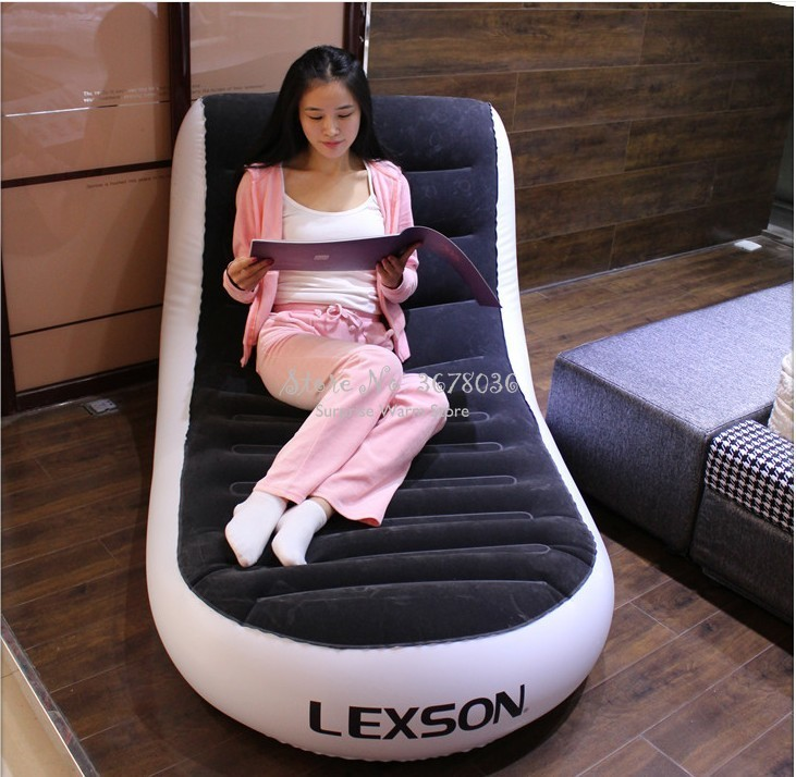 Foldable Sofa Bed Chaise Lounge Chair Lazy Sofa Inflatable Sofa Bed Double Inflatable Sofa Outdoor Inflatable Sofa