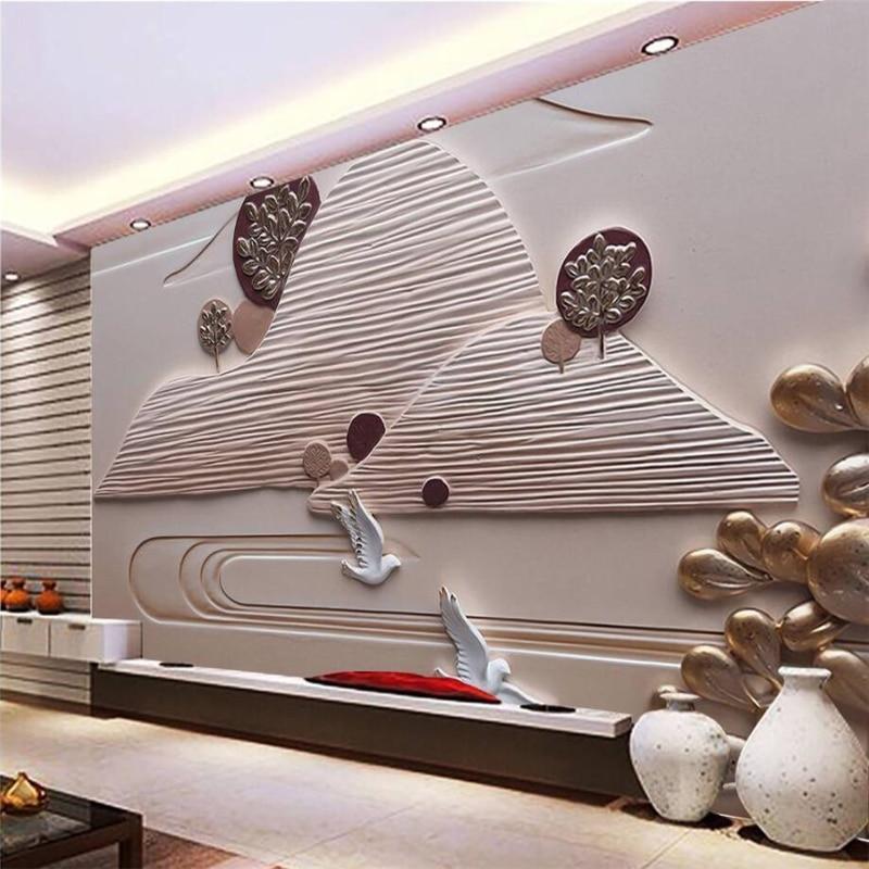 Beibehang Custom Wallpaper Home Decor Living Room Bedroom: Beibehang Custom 3d Wall Paper Murals Living Room Bedroom