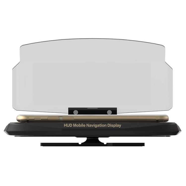 Smartphone Projetor HUD Head Up Display Titular Navegador GPS Montar Titular Suporte Do Telefone Do Carro