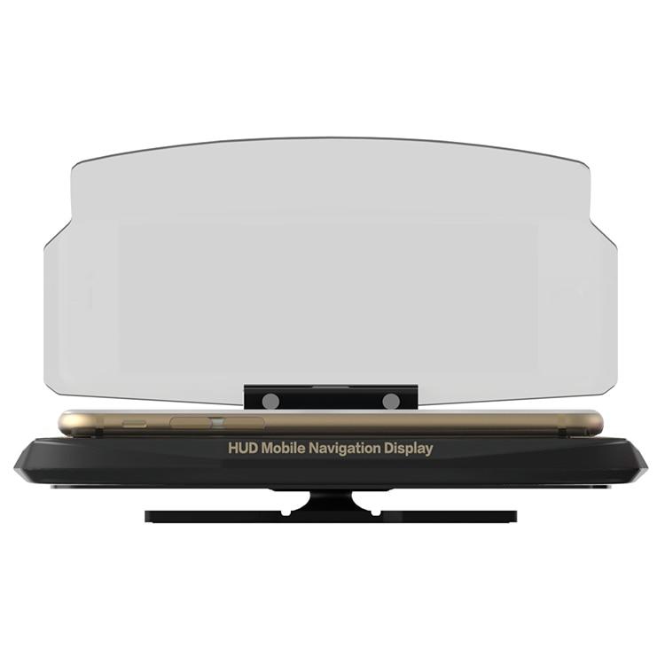 Smartphone proyector HUD head up display titular GPS Navigator montaje soporte teléfono titular