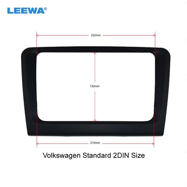 Leewa Auto Monteren Dvd Frame, Audio Frame, Radio Frame, Dvd Panel, fascia Voor Skoda Superb # CA3861Gdvd frameradio framedvd panel