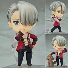 Nendoroid 741 Yuri on Ice Victor Nikiforov PVC Action Figure Collectible Model Toy(China)