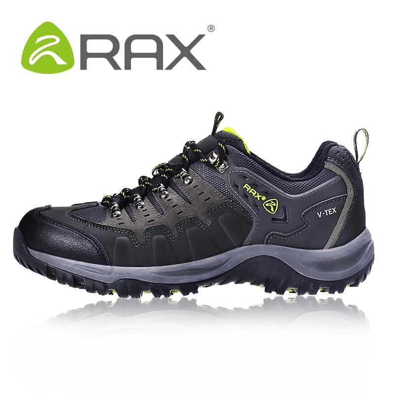 Rax Outdoor Waterproof Hiking Shoes Men Women Breathable Climbing Shoes Men Walking Camping Brand Shoes Women Zapatos Senderismo rax camping