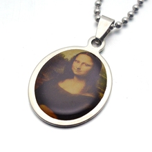 FREE Mona Lisa Stainless Steel Necklace