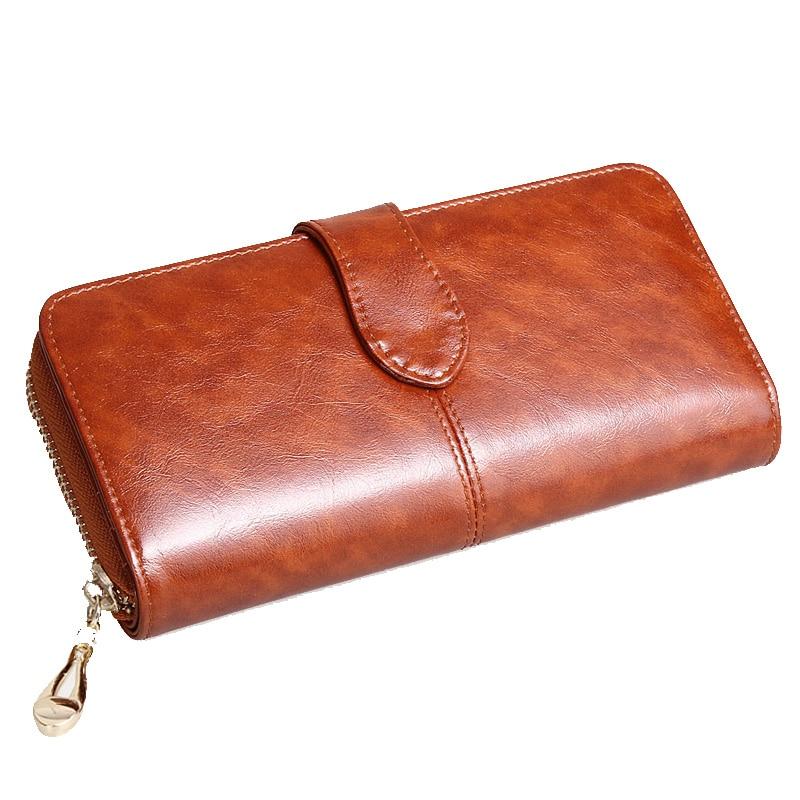 все цены на genuine leather bag wallets purse dollar price women bags luxury brand long wallet card holder coin bag