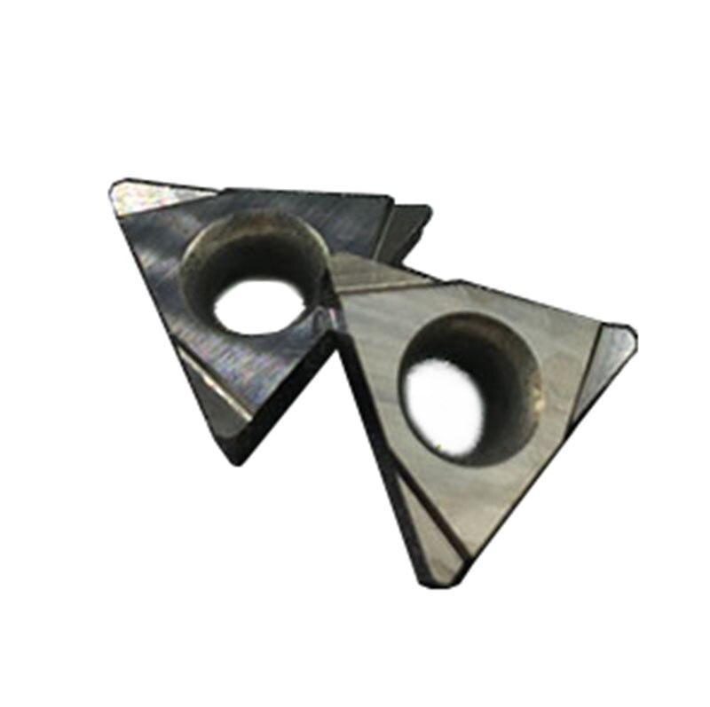 10PCS TPGH110304 L CT3000 vidiniai tekinimo įrankiai Cermet klasės - Staklės ir priedai - Nuotrauka 1