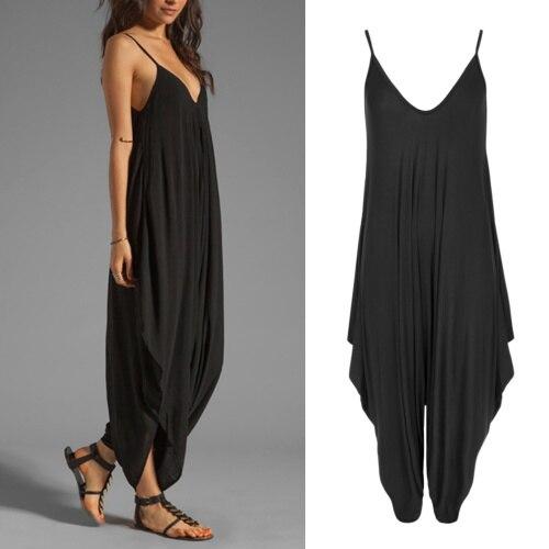 Женская мода Гамак Сиамские Брюки V шеи Спагетти Ремень Ползунки Комбинезон  боди для женщин джинсовый комбинезон