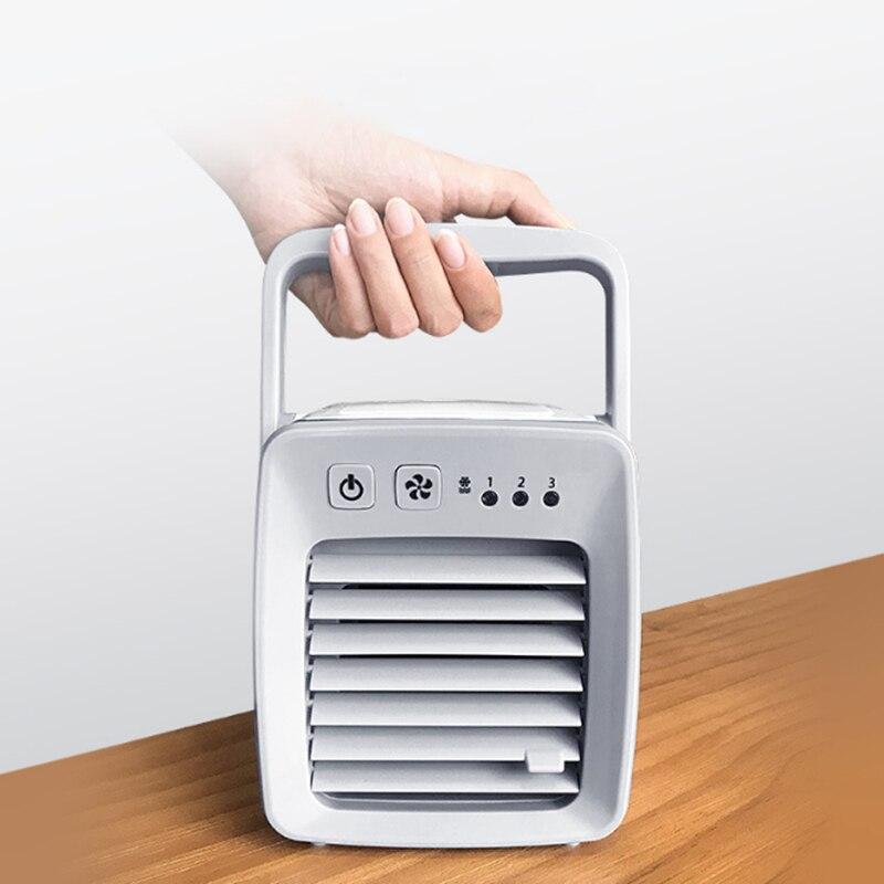 USB refroidisseur d'air ventilateur evapolar usb ventilateur Portable bureau ventilateur Mini climatiseur dispositif Air froid apaisant vent maison/bureau
