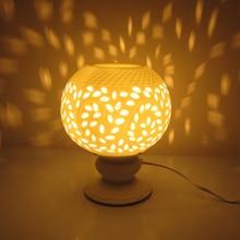 White Fragrance Lamp Plug Oil Furnace Ceramic Incense Burner Bedside Bedroom Living Room Gift