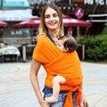 2016 Algodón Caliente Del Portador de Bebé Infantil Mochila Porta Bebé Honda del Portador Ergonómico Porta Bebé Sling Niño Envuelve