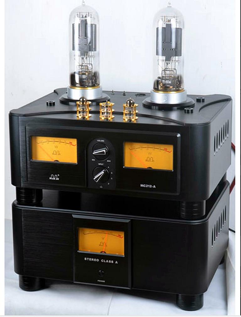 Meixing mingda MC 212-A HIFI Tube À Vide Amplificateur intégré PSVANE réplique WE212 * 2 puissance: 50 w * 2