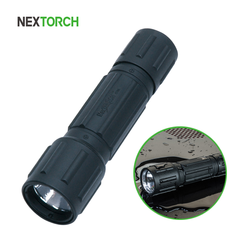 NEXTORCH Flashlight Waterproof Shockproof 80 Lumen Lanterna Hunting Camping Tactical Self-defense Flashlight Torch# GT6A-S