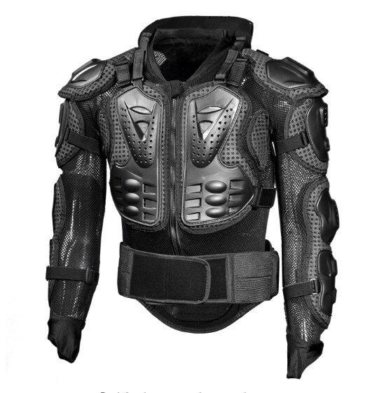 Armure de protection de coude et de poitrine et le cou pour moto scooter 2