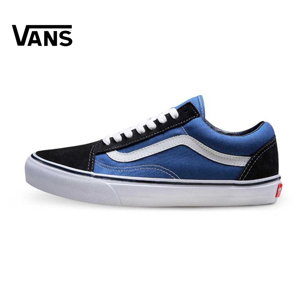 Original Vans Unisex Old Skool Skateboarding Shoes sports Shoes Sneakers Sports Shoes Classique original vans classic unisex white skateboarding shoes old skool sports shoes sneakers free shipping