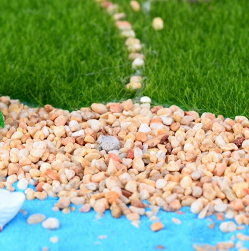 150g beach stones rocks moss terrarium crafts river sand fairy ...