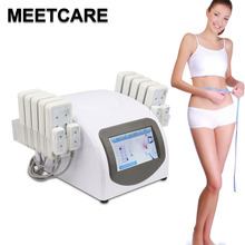 Portable Home Lipolaser Professional Slimming Machine 10 largepads 4 smallpad Lipo Laser Beauty Equipment Device for Weight Loss