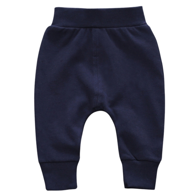 2017 New Arrival Baby Boys And Girls Loose and Comfortable Kids Trousers Children's 100% Cotton pants 4-24M S2