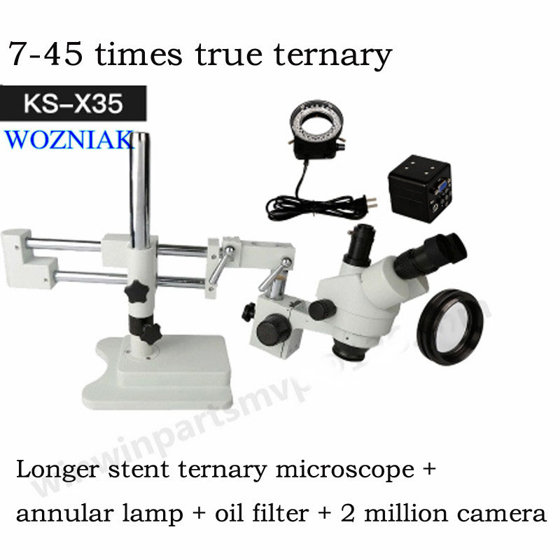 Portable magnifying glass electron microscope with hd display mobile phone repair major biological science experiments mobile phone microscope