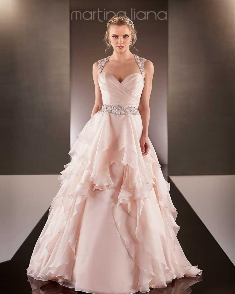 Popular peach colored wedding dresses buy cheap peach for Wedding dress to buy