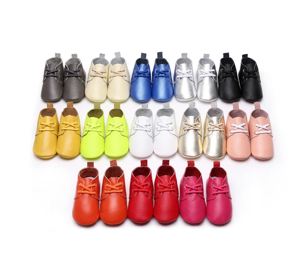 Toddler Baby Kids Girl Boy Soft Crib Shoes Leather Anti-slip Sneakers Prewalkers