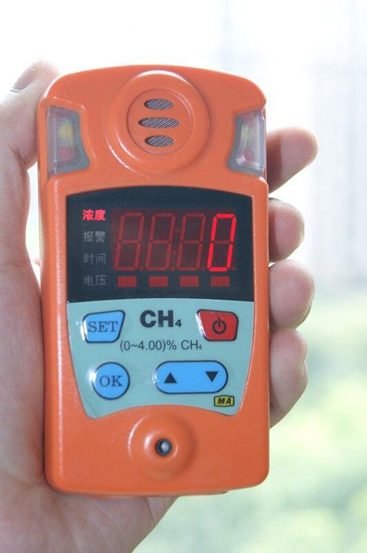 Détecteur de gaz mine détecteur de gaz explosif détecteur de concentration de méthane détecteur de carreaux portable CH4
