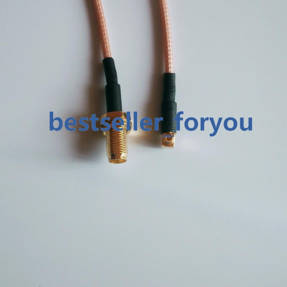 "1pce Connector SMA female crimp RG316 RG174 LMR100 O-ring 5//8/"" panel mount"