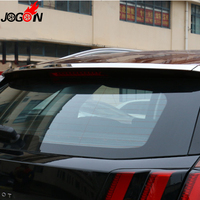 For Peugeot 3008 II 2016 2017 Second Generation Car Rear Back Spoiler Lip Wing Add On