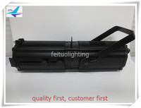 free shipping 2 pieces led studio light cool white/warm white 300w led follow spot with zoom