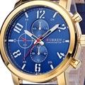 Curren Men's Sports Quartz Watches Mens Watches Top Brand Luxury Leather Wristwatches Relogio Masculino Men Curren Watches 8192