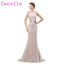 cecelle Designer Mermaid Prom Dresses 2019 Sleeveless