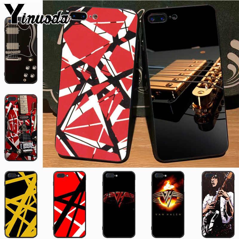 Yinuoda Eddie Van Halen Graphic Guitar Amazing Landscape Phone Case For Iphone 7plus 6s 7 8 8plus X Xs Xr Xs Max 5s 11pro Case Phone Case Covers Aliexpress