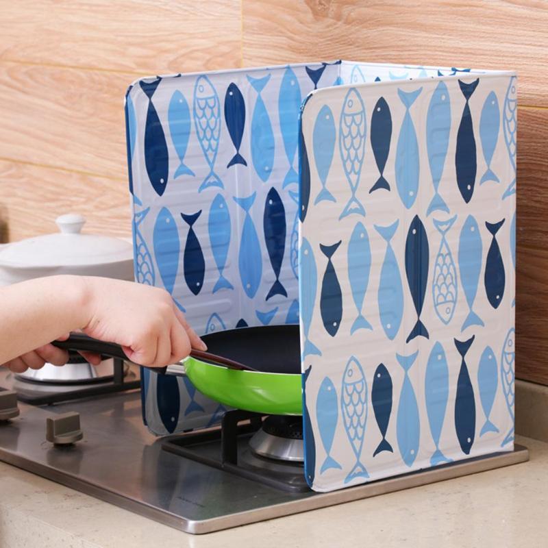 Масляная Ширма из алюминиевой фольги, газовая плита, маслопластовые экраны, кухонные принадлежности для готовки, изоляционная, брызгозащищенная пластина