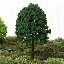 Mini Tree Fairy Garden Decorations Miniatures Micro Landscape Resin Crafts Bonsai Figurine Garden Terrarium Accessories