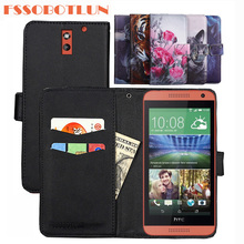 FSSOBOTLUN 9 Kleuren Voor HTC Desire 610 Case PU Lederen Retro Flip Cover Shell Magnetische Mode Portemonnee Gevallen Kickstand Band
