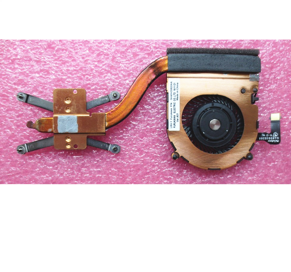 Original For Lenovo ThinkPad X1 Yoga X1 Carbon 4th Heatsink CPU Cooler Cooling Fan 00JT800 01AW976