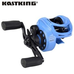 Image 1 - بكرة الصيد KastKing Royale Legend Elite Baitcast بكرة سلسلة بكرة الصيد اليد اليمنى اليسرى 12BBs 8 كجم بكرة الفرامل المغناطيسية