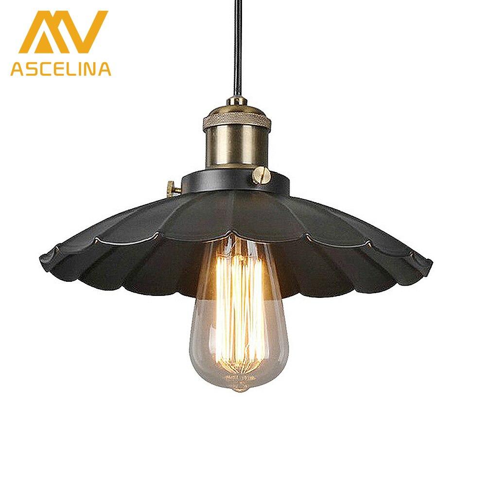 Pendentif Lumière Cru Éclairage Industriel Edison Ampoule Support de Lampe de Cuivre Américain Plafonniers d'allée Lampe 110/220 V Luminaires
