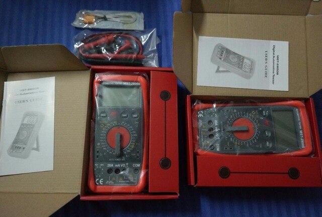 Automotive Digital Multimeter : Pcs lot intelligent automotive digital multimeter mst in