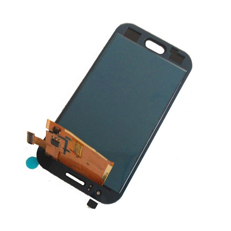 imágenes para Blanco Asamblea Digitalizador Pantalla Táctil Sensor de Vidrio + Panel de la Pantalla LCD Para Samsung Galaxy Ace J1 J110 SM-J110F J110H J110FM