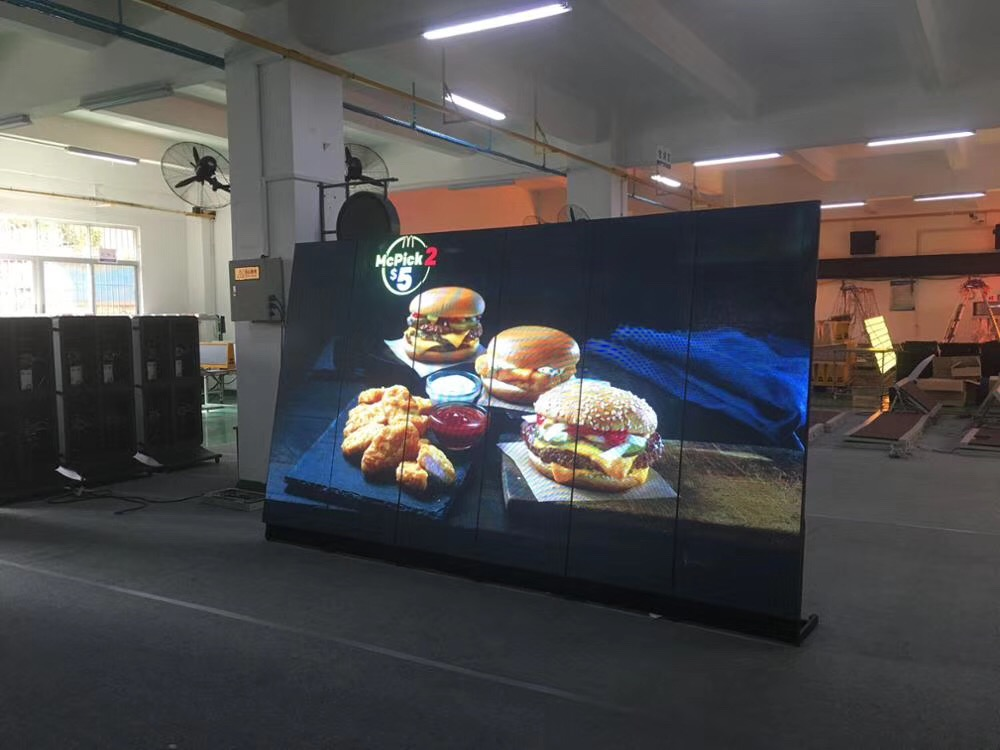 DIY 43 49 55 Inch Led Backlight Advertising Display Player Signage Tft Hd Led Screen Outdoor LED Advertising Screen Display