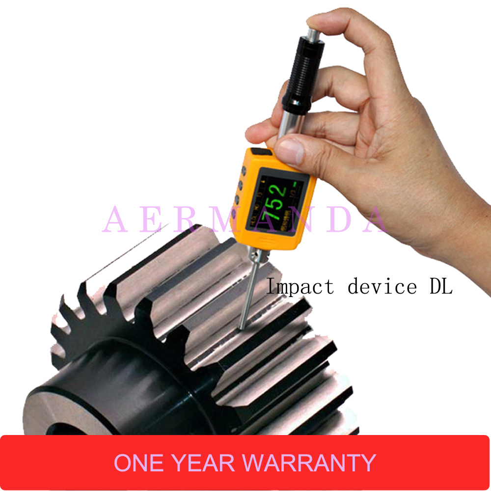 Pen type Leeb hardness tester LM330 Color display Integrated Durometer Hardness Meter Impact device DL in Hardness Testers from Tools