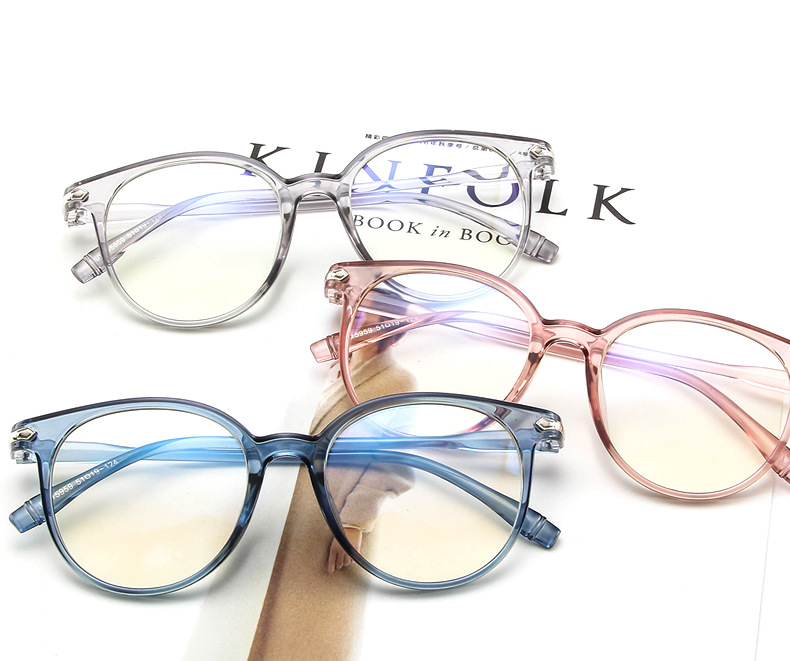 51d286344ea 2018 New Fashion Luxury brand Cheap Men Computer Nerd Eyeglasses Frames For Women  Glasses Transparent Blue Ray Anti-fatigue and anti-radiation Clear lens ...