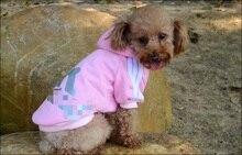 La MaxZa Dog Clothes Pets Coats Soft Cotton Puppy Dog Clothes Adidog Clothes For Dog New 2014 Autumn Pet Products