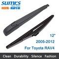 "Nova janela traseira windshield wiper arm e lâmina para toyota rav4 (2005-2012) 12 ""r12a660"
