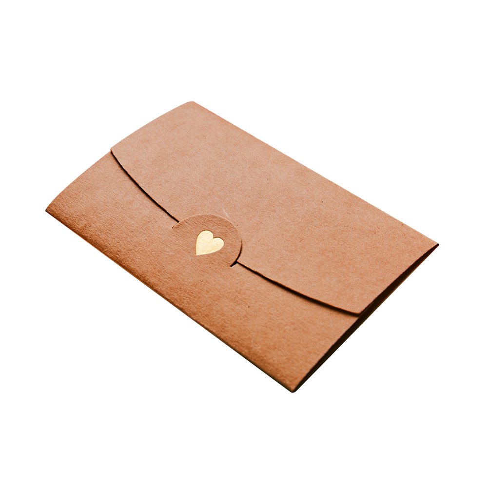 20pcs Craft Business Envelopes Gift Card Office Mini Pocket Notes Loving Heart DIY Multifunction Wedding Paper Classical