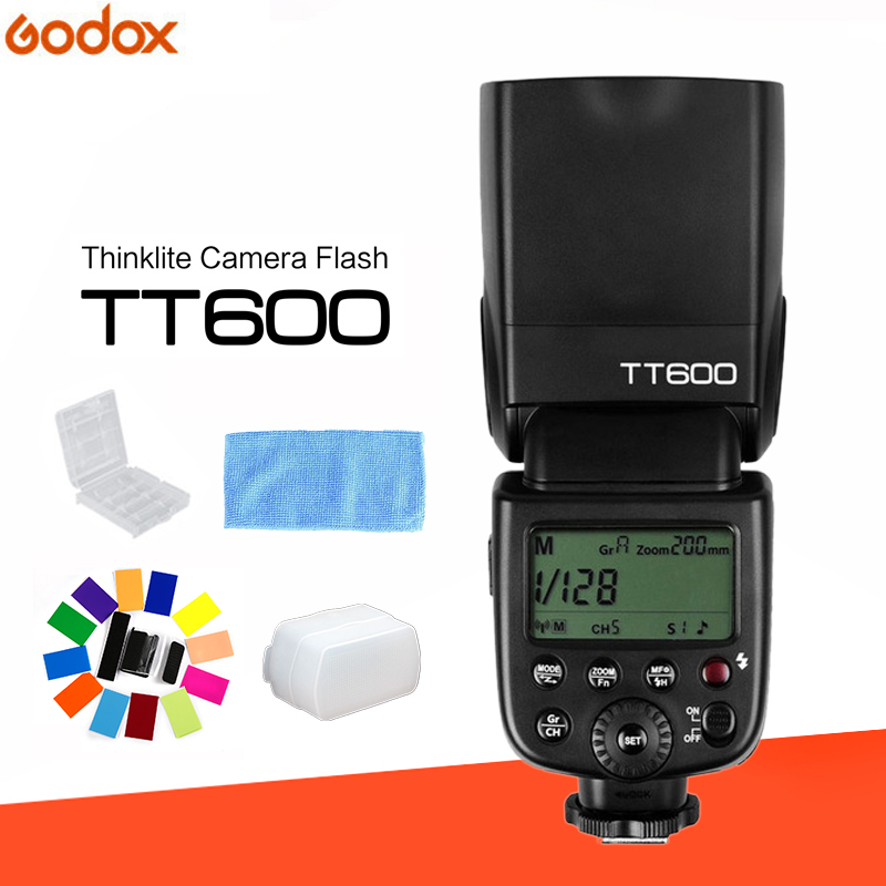 Godox TT600 2.4G Wireless GN60 Master/Slave Camera Flash Speedlite for Canon Nikon Pentax Olympus Fujifilm Sony цена