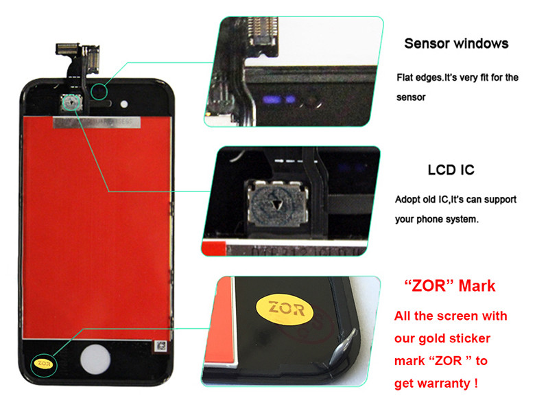 for iphone 4 lcd screen 8
